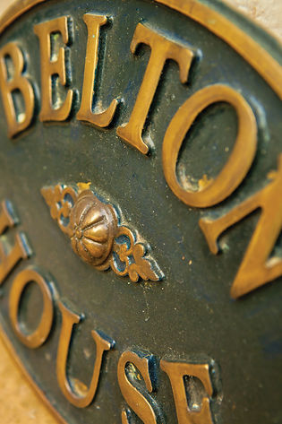 Belton House Sign