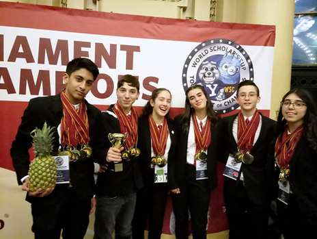 נבחרת ׳אחד העם׳ הגיעה להישגים מרשימים ביותר בגביע האלופים באוניברסיטת ייל !