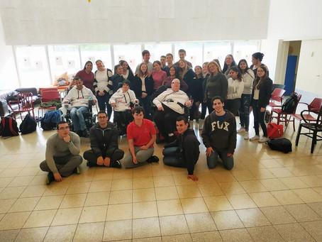 תלמידי פסיכולוגיה שלנו בתיכון ׳אחד העם׳ הועשרו ב״חוויה מתגלגלת״