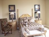 Dungan Custom Homes - Pale Gold Master Bed
