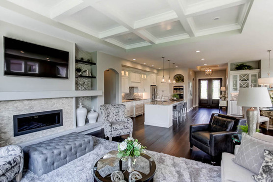 Dungan Custom Homes - White Palette Open Concept