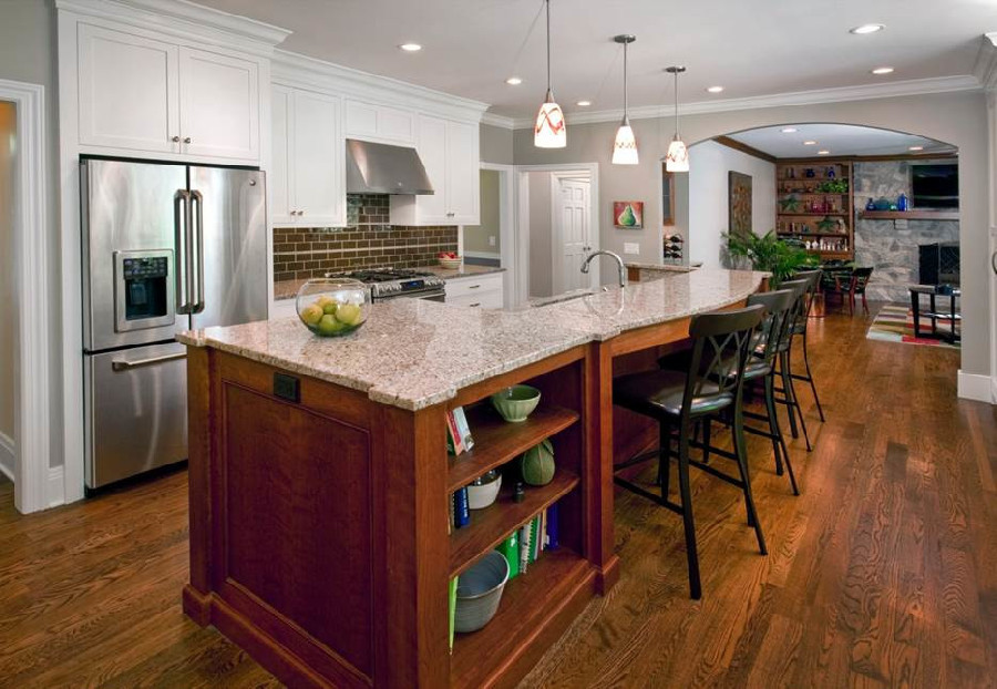 Dungan Custom Homes - Open Kitchen for Entertaining
