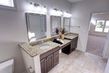 Dungan Custom Homes - Split Vanity Master Bath