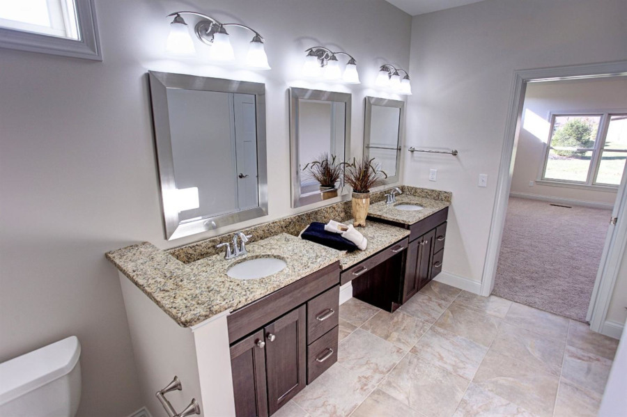 Dungan Custom Homes - Split Vanity Master Bath