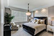 Dungan Custom Homes - Silver and Gray Master Bedroom
