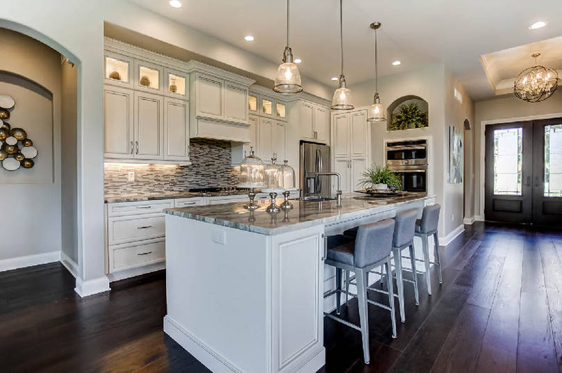 Dungan Custom Homes - Spacious Open Kitchen