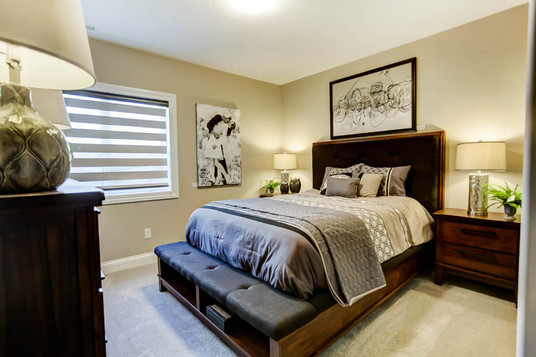 Dungan Custom Homes - Cabin Chic Guest Bedroom
