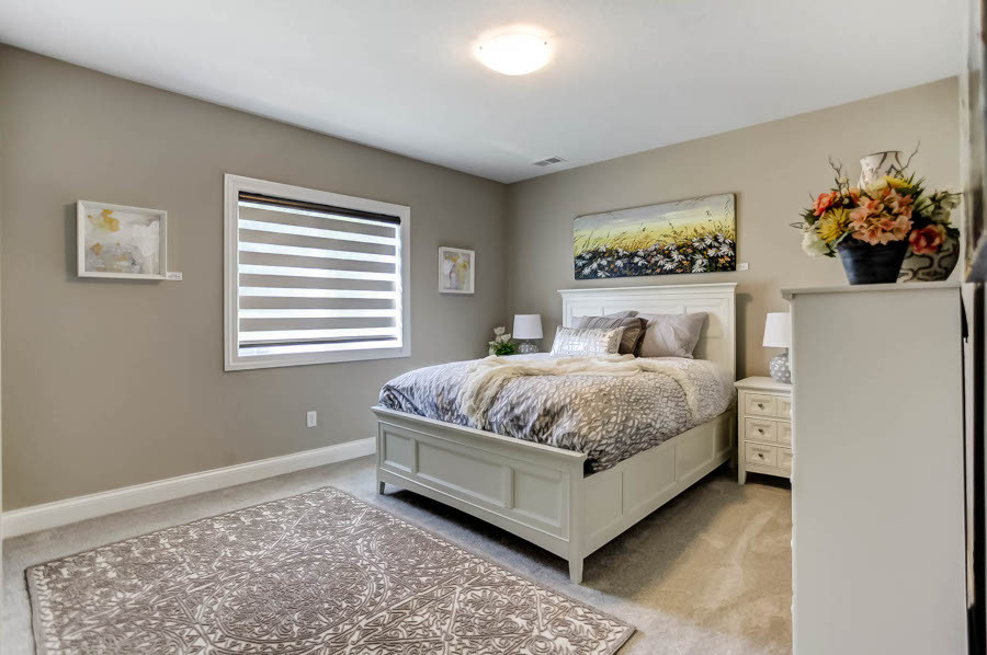 Dungan Custom Homes - Guest Bed in Latte