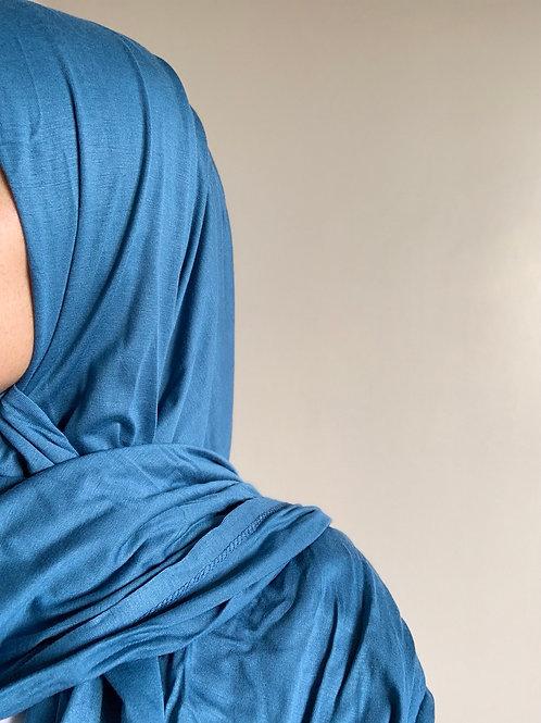 Hijab Viscose - Bleu Ciel