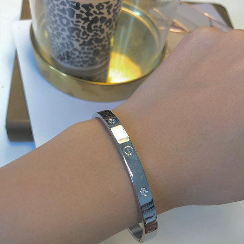 Bracelet LOVE Argent-strass