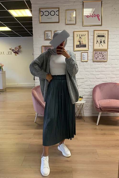Jupe JULY - Gris anthracite