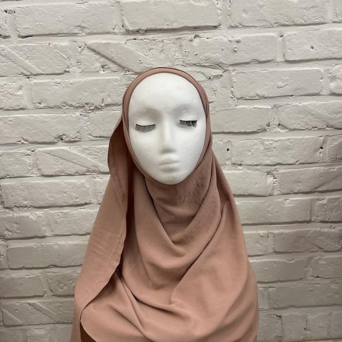 Hijab à enfiler - Rose