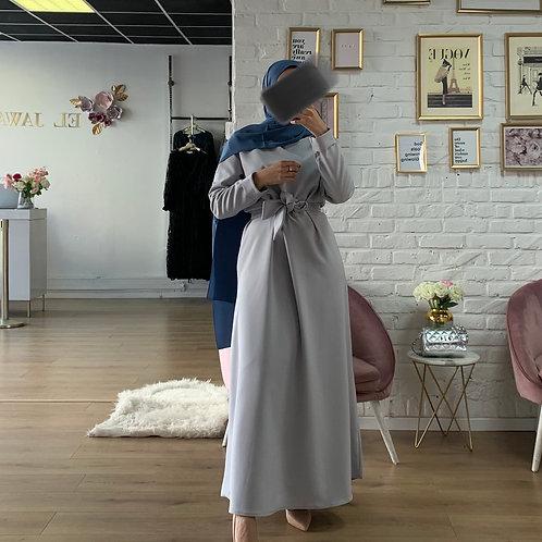 Abaya / Sous robe BASIC - Gris