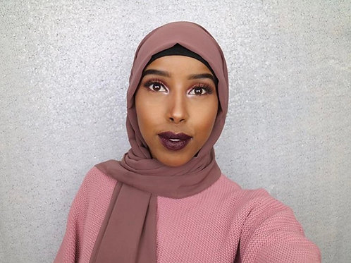 Maxi Hijab Vieux rose *1m70*