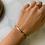 Thumbnail: Bracelet SINA II Rose Gold