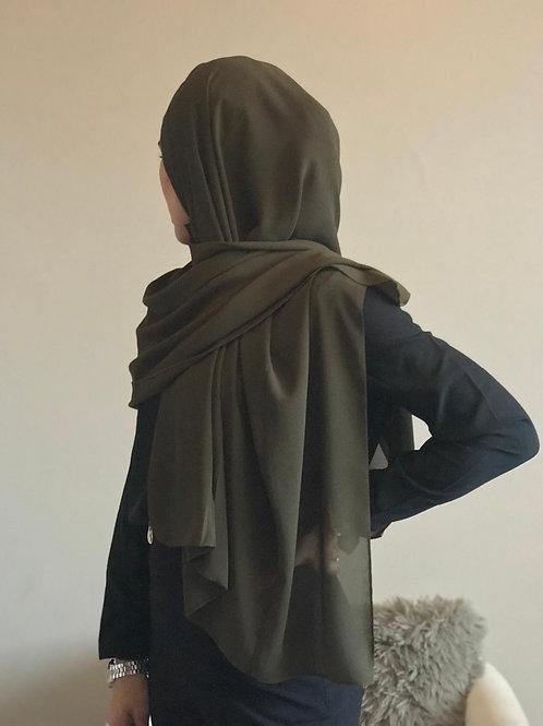 Maxi Hijab Vert Kaki *2M*