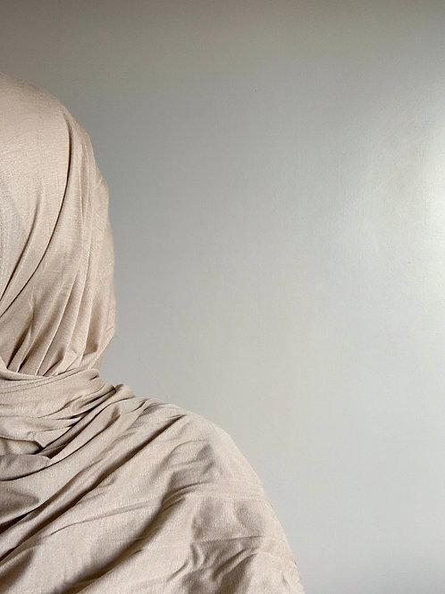 Hijab Viscose - Beige sable