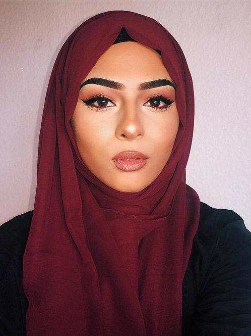 Maxi Hijab Bordeaux *1m70*