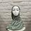 Thumbnail: Hijab à enfiler - Vert Pastel