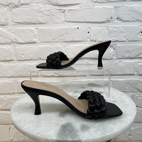Sandale à talon TRESSYA Noir
