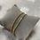 Thumbnail: Bracelet STRASS Or
