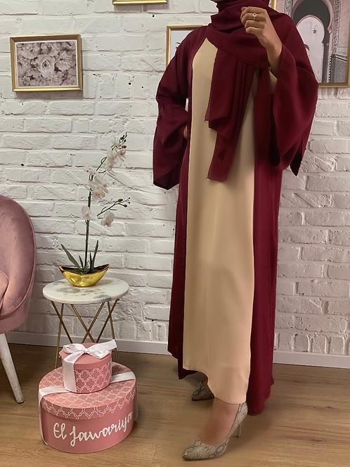 Kimono LEYA - Bordeaux