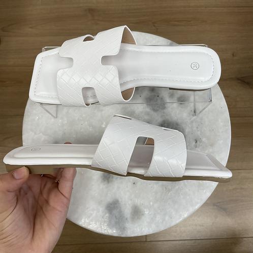 Sandales ORAN Blanc