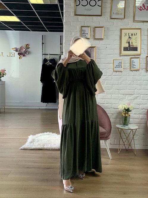 Robe SPRING - Vert Kaki