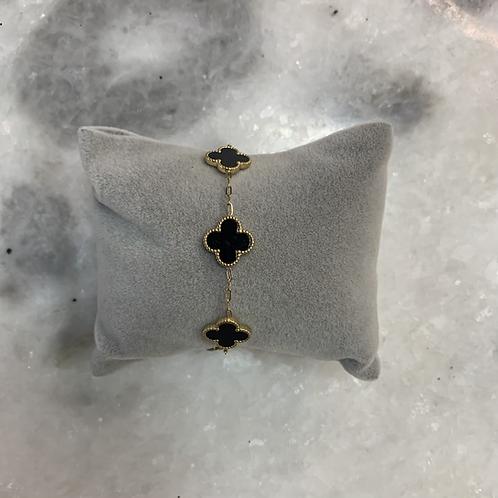Bracelet CLEEF - Noir