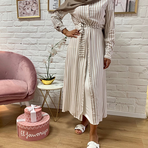 Robe SAILOR - Taupe