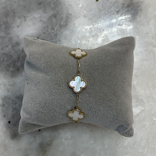 Bracelet CLEEF - Blanc
