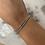 Thumbnail: Bracelet STRASS Argent