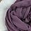 Thumbnail: Hijab Plissé mousseline Violet