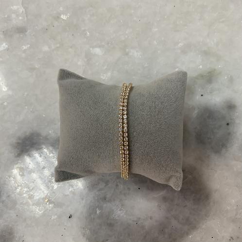 Bracelet STRASS Or