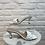 Thumbnail: Sandale à talon TRESSYA Blanc