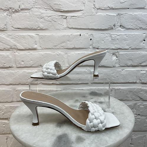 Sandale à talon TRESSYA Blanc
