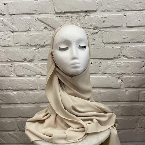Hijab à enfiler - Beige