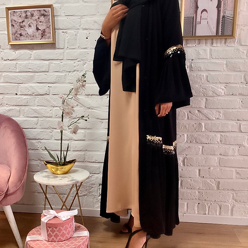 Kimono MAYRA - Noir