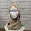 Thumbnail: Hijab Beige Sable