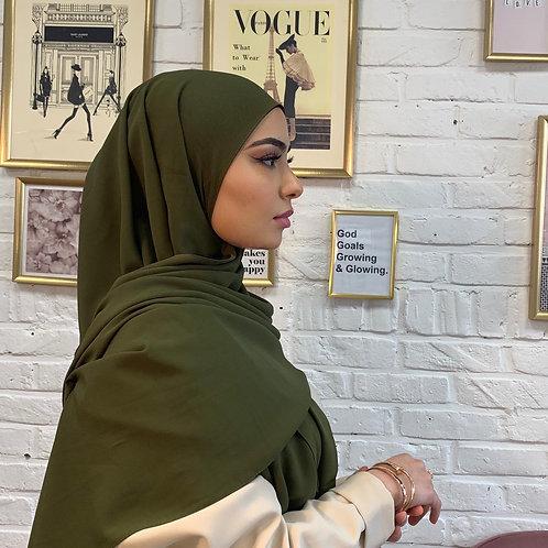 Hijab Vert Kaki