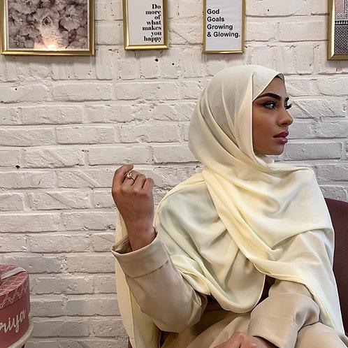 Hijab Blanc cassé