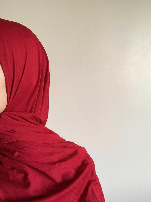 Hijab Viscose - Rouge Rubis