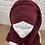 Thumbnail: Hijab Bordeaux