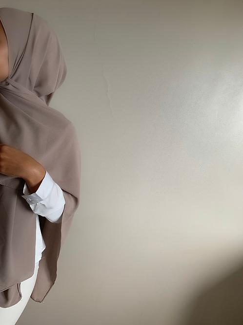 Maxi Hijab Taupe 2M