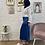 Thumbnail: Jupe SATIN - Bleu électrique