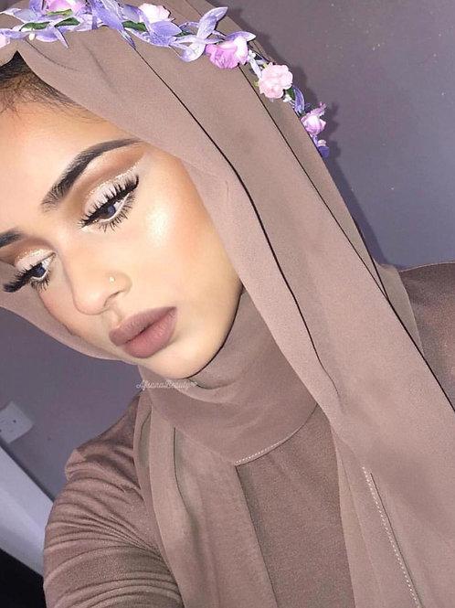 Maxi Hijab Taupe *1m70*