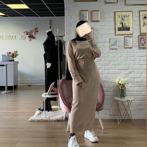 Robe / Pull WOLF - Beige