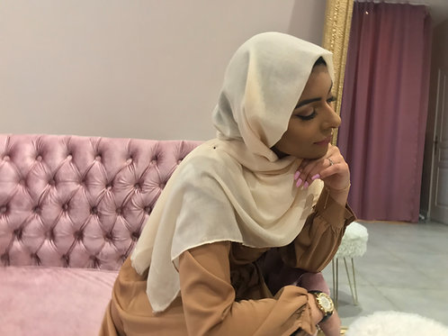 Maxi Hijab Basic Beige