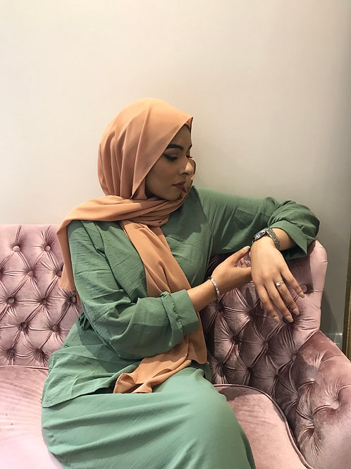 Maxi Hijab Caramel *1m70*