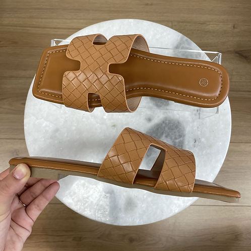 Sandales ORAN Camel